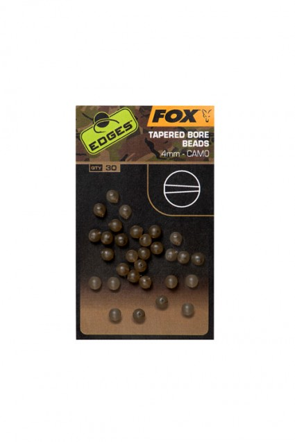Edges Camo Tapered Bore Bead 4 mm