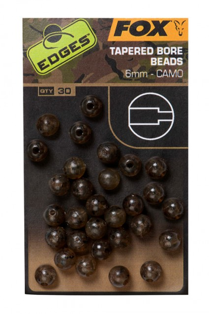 Edges Camo Tapered Bore Bead 6 mm