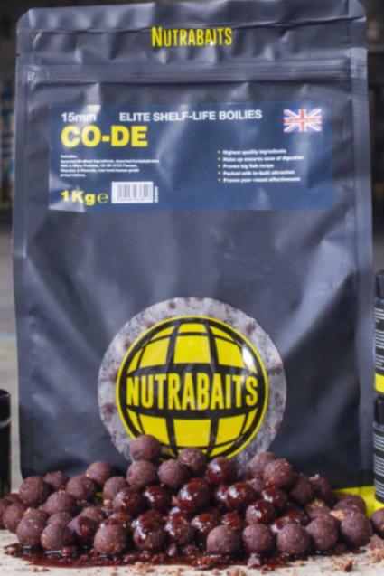 Nutra Bait SHELF-LIFE BOILIES CO-DE 1 kg !New 2021