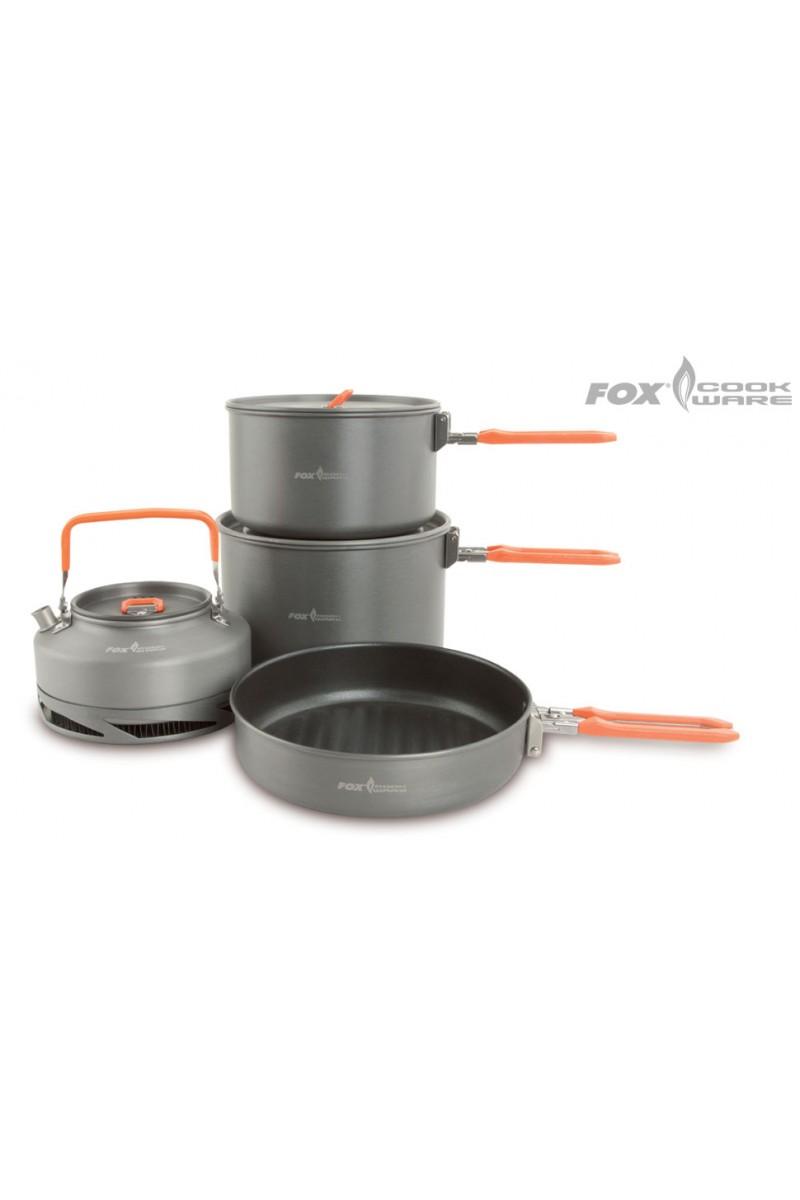 Stovyklavimo Indų rinkinys Fox Cookware Set-Fox