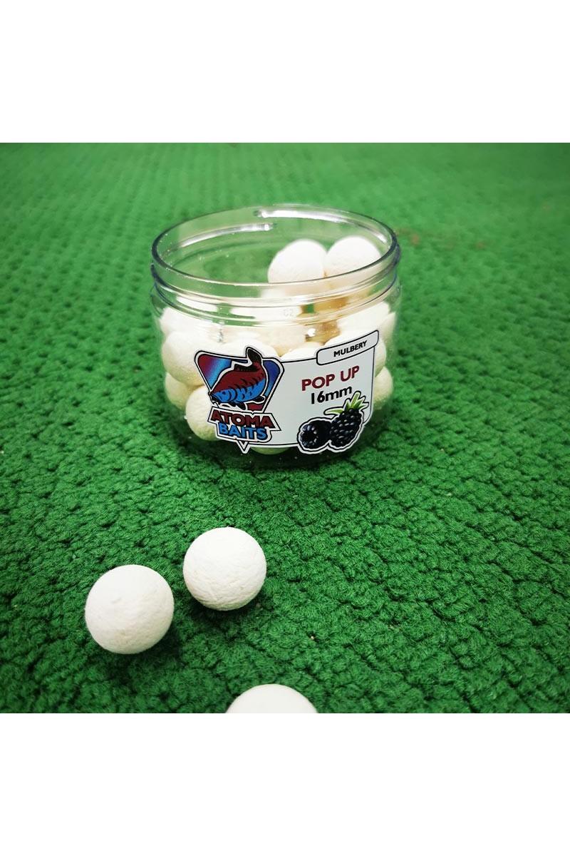 Boiliai Atoma Baits Mulberry Pop Ups-ATOMA BAITS