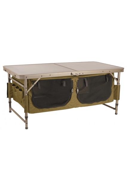 Staliukas su spintelėmis Fox Session Table With Storage