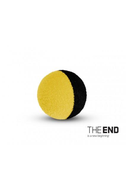 THE END ZIG RIG black-yellow / 10pcs