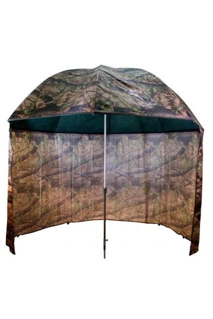 Skėtis Delphin Umbrella PVC su užkabinamu tentu