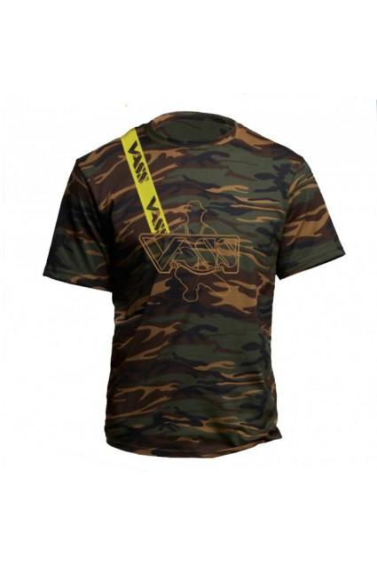 Maikutė Vass Cotton Camouflage T-Shirt