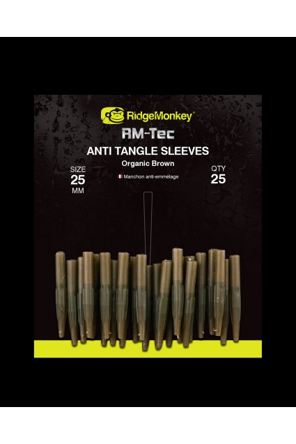 RidgeMonkey RM-Tec Anti-Tangle Sleeves 25vnt