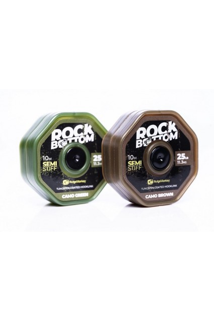RidgeMonkey Rock Bottom Tungsten Coated Stiff Camo