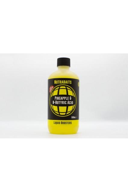 Nutra Baits Liquid Booster 500 ml Pineapple & N-Butyric