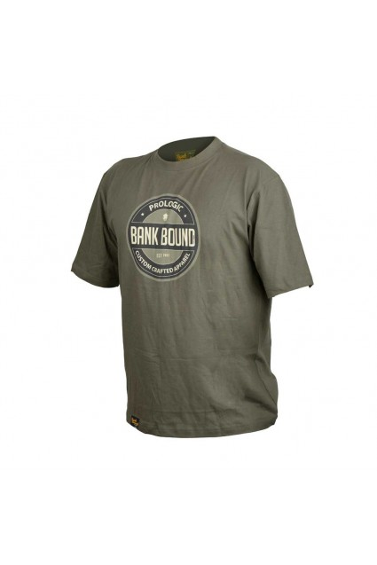 Bank Bound Badge Tee Green